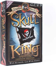Amazon.com: Skull King - The Ultimate Pirate Trick Taking Game | from The Creators of Cover Your Assets & Cover Your Kingdom | 2-6 Players 8+: Toys & Games Games To Buy, The Expanse, Card Games, Pirates, The Creator, Skull, King, Amazon, The Originals