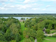 View from top of St. Helen, Ranworth Norfolk. Photo taken in August 2010.