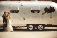 Wedding Airstream, naturally!