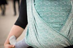 Woven Wings Spearmint Lace Wrap (silk) 6