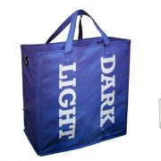 dark/light laundry bag