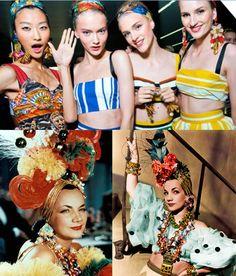 A importância de Carmen Miranda na moda brasileira.....#southamericanway