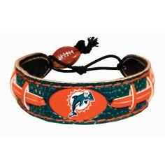 Miami Dolphins Team Color NFL Football Bracelet by GameWear, http://www.amazon.com/dp/B002VPWQ0Y/ref=cm_sw_r_pi_dp_zV7lsb0M178V4