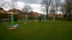 FreeGym Geräte in Krems, Austria