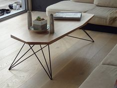 Custom Handmade Geometric Coffee Table