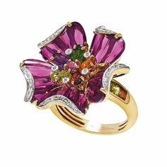 CIJ International Jewellery TRENDS & COLOURS - Ring by Bellarri