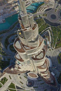 Amazing View of Burj Khalifa, UAE.