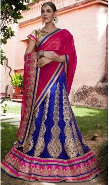 Circular Style Blue Color Net Crystals Stones Work Lehenga Choli   FH536880927 >>>>>> Follow Us @heenastyle <<<<<<< --------------------------------------------------------- #styleinspiration #onlineboutique #boutiquefashion #boutiquestyle #boutiqueclothi