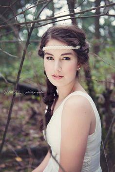 Senior portrait makeup artist, Jessica Belknap.