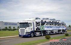 Hyundai faz primeira exportação do HB20
