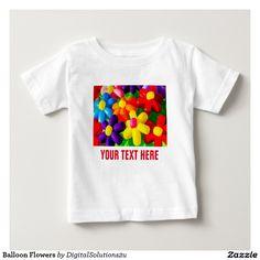 Balloon Flowers Baby T-Shirt
