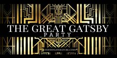 The Great Gatsby Party and Menu- Food in Literature Great Gatsby Fashion, Great Gatsby Party, The Great Gatsby, Where To Buy Bedding, Wedding Party Invites, Party Invitations, Toddler Girl Bedding Sets, Gatsby Style, Practical Gifts