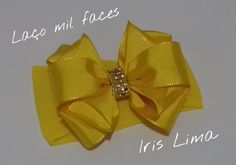 Como fazer laço mil faces Diy ,Tutorial ,Pap By Iris Lima How To Make a ...