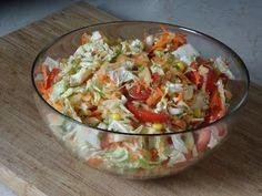 Best salad you can imagine! New Recipes, Cooking Recipes, Healthy Recipes, Prosciutto, Guacamole, Vegan Vegetarian, Potato Salad, Cabbage, Good Food