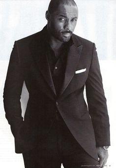 Idris Elba... whew!