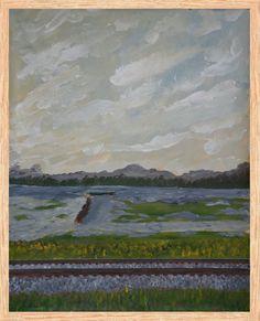 Paintings For Sale, Original Paintings, Original Art, Canvas Art Prints, Framed Art Prints, Poster Prints, Impressionism Art, Impressionist, River Painting