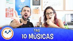 Respondemos a TAG 10 MÚSICAS recomendada pelo canal The Coockie Collector! Vem ver quais são as músicas que a gente selecionou! Seja nosso patrão e tenha benefícios exclusivos: http://www.apoia.se/saudenarotina   Compre as canecas do Saúde na Rotina: https://www.saudenarotina.com.br/canecas  Mande amor pra gente! CAIXA POSTAL 79707 CEP 05022-001 - São Paulo-SP  TAG:  1 - Uma música que te lembra um momento bom [Power of Love - Huey Lewis and The News] 2 - Uma música que defina sua vida…