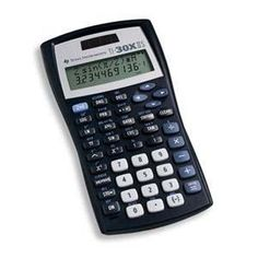 Texas Instruments TI-30XIIS Solar Scientific Calculator - 2 Line(s) - LCD - Solar Powered - 5.1 x 2.6 x 0.5 by Texas Instruments. $20.29. Description:Scientific calculator with equation recall combines statistics and advanced scientific functions. Two-line display shows entries on the top line and results on the bottom line. Entry line on the top of the display shows up to 11 characters and can scroll left and right up to 88. Result line on the bottom shows up to a...