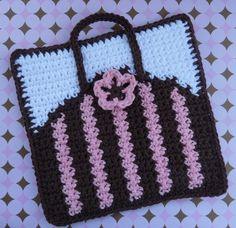Purse Potholder Crochet PATTERN ❤❤❤