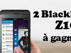 Concours : 2 BLACKBERRY Z10 à gagner sur le blog MISS ZAZA ! • Hellocoton.fr