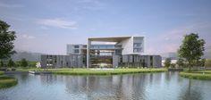 Galeria de Anunciado o projeto vencedor para a nova Faculdade de Arquitetura e Design da Universidade Wenzhou-Kean - 2