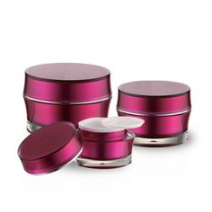 J24 Round Acrylic Jars