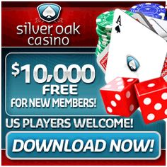 Get a $10,000 welcome bonus on your first 10 deposits at Silver Oak Casino!