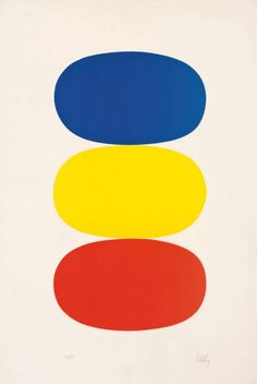 Painting by Ellsworth Kelly.