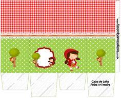 Caixa Milk Chapeuzinho Vermelho