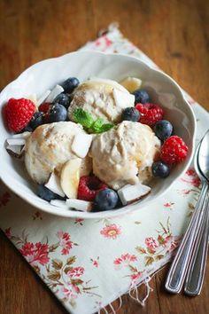 Foto: Pronti per la merenda? [Incredibile! Sul blog c'è un nuovo post...:)] http://www.zuccheroesale.it/banana-frozen-yogurt/