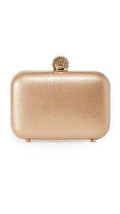Inge Christopher Fiona Leather Clutch   SHOPBOP
