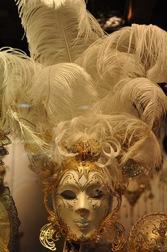 Venetian Mask - Im going to get a ventian mask when in Venice in Oct :)