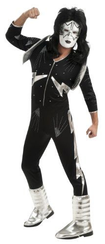 Rubie's Costume Co Men's Kiss Deluxe Adult The Spaceman Costume, Black, X-Large True Reviews