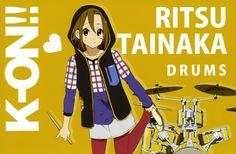 cool ritsu tainaka k on anime hd wallpaper 31927 K On Anime, Me Me Me Anime, Manga Anime, Manga Art, Anime Girls, Reading Sheet Music, Miss Kobayashi's Dragon Maid, Kyoto Animation, Light Music