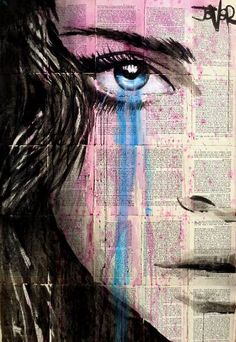 "Saatchi Art Artist LOUI JOVER; Drawing, ""pink dystopia"" #art"