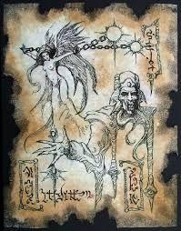 Cthulhu larp Dark Sorcery Necronomicon Fragment occult horror art on Etsy… Hp Lovecraft, Lovecraft Cthulhu, Larp, Arte Horror, Horror Art, Fantasy Rpg, Dark Fantasy, Necronomicon Lovecraft, The Crow