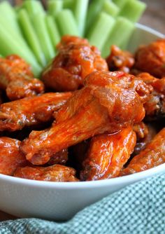 This recipe* for Buffalo Wings is one of the first things I ever found on the internet (right after the Cinnamon Roll recipe I recently posted). These wings are so simple to make, but taste as if t…