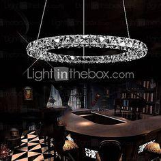 LED Crystal Pendant D40CM Three Sides 2016 – £151.89