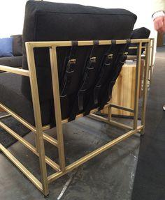 Stephen Kennu0027s Buckled Seat Backs