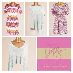 Pernilla Wahlgren Collection: Wawy dress, poncho, great dress @ www.behandigt.se