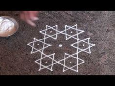 simple rangoli designs with 5 to 3 dots Simple Rangoli Designs Images, Rangoli Border Designs, Small Rangoli Design, Rangoli Designs With Dots, Rangoli With Dots, Beautiful Rangoli Designs, Mehndi Designs, Rangoli Borders, Rangoli Patterns