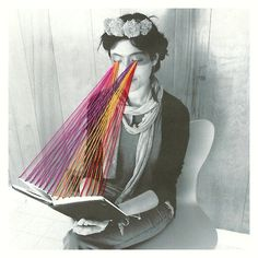 artchipel: Mana Morimoto | on Tumblr - Megan Is Reading Rainbow [Art Writer's Wednesday with Artchipel]