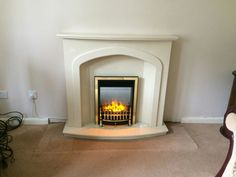 Edinburgh fireplace with Nebraska electric fire