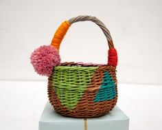 Folk Art Gift Basket Tutorial