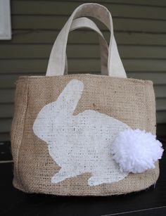 White Bunny Easter Bag! Is it to girly for my boys?