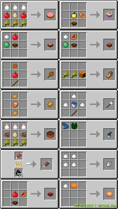 minecraft useful food | UsefulFood Mod для Minecraft 1.6.2