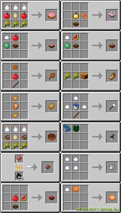 minecraft useful food   UsefulFood Mod для Minecraft 1.6.2