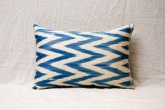 handmade ikat pillow cover  1339 x 1949  FAST shipment by YASTK, $29.00