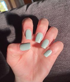 Gel Manicure Nails, Cute Gel Nails, Summer Acrylic Nails, Best Acrylic Nails, Cute Simple Nail Designs, Cute Simple Nails, Cute Acrylic Nail Designs, Plain Acrylic Nails, Short Square Acrylic Nails
