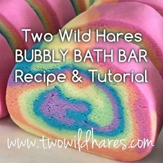 VIDEOS: YouTube video of me rolling my Unicorn Poop Bubbly Bath Bar Log: http://youtu.be/PaZ50IL6lUk Royalty Soaps YouTube video featuring this recipe: https://www.youtube.com/watch?v=GIF-E76Qw2I Youve wasted enough expensive ingredients making substandard solid bubble bath bars with